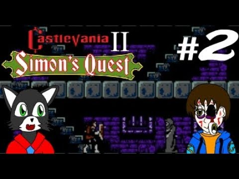 Let's Play Castlevania II Simon's Quest Part 2 The Secret Sellers in the Secret Cellars