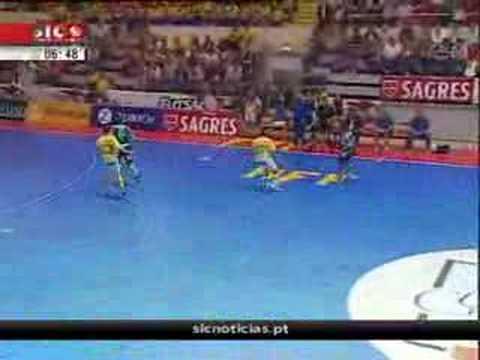 Futsal :: Sporting - 4 x FJ Antunes - 1 de 2007/2008 Final da Taça de Portugal