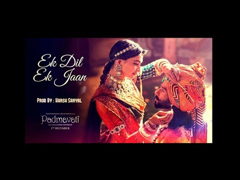 Ek Dil Ek Jaan Instrumental Cover Mix Padmaavat /shivam Pathak   Harsh Sanyal