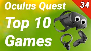 Oculus Quest - Top 10 Games | Reviews, Tests, Gameplay (deutsch / 34. KW 2019) Virtual Reality VR