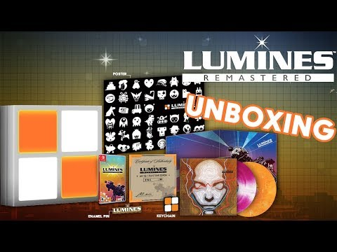 Lumines Remastered - Unboxing | Limited Run