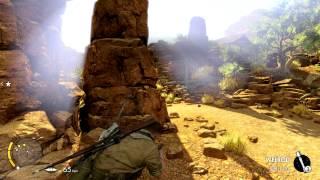 Sniper Elite 3 Afrika PC gameplay. Max settings and 1080p