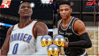 TOO CLOSE TO CALL!! Nba 2k18 Vs Nba Live 18!!! Part 3 SIDE BY SIDE!!!