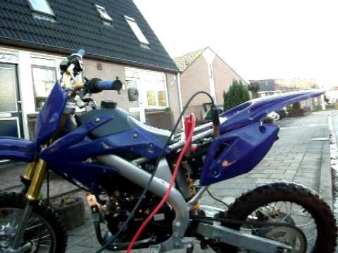 Zongshen 250cc 4-takt pitbike