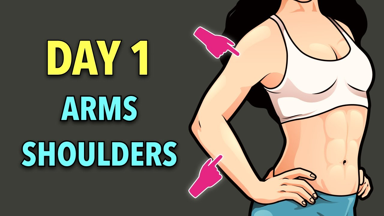 Day 12: LOSE ARM AND SHOULDER FAT