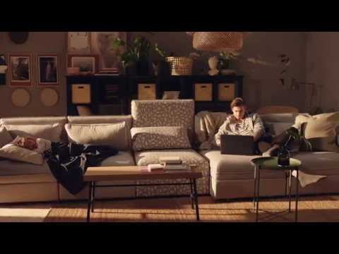 Ikea vallentuna modular sofa youtube for Ikea configurador