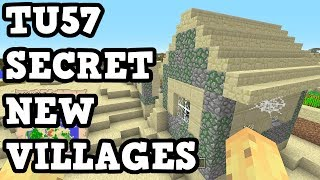 Minecraft Xbox One / PS4 - TU57 SECRET VILLAGES FOUND