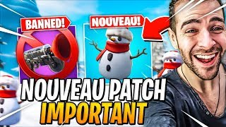 💀 I DISCOVER THE NEW NEIGE GOOD - Top 1 - NEW IMPORTANT PATCH! Fortnite Season