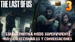 The last of us Capítulo-3 Ciudad de Bill-Guía 100% coleccionables Modo Superviviente-1080HD Español