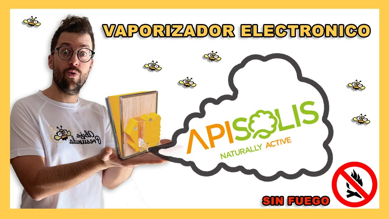 Apisolis  🐝🧡🎥Vaporizador electónico