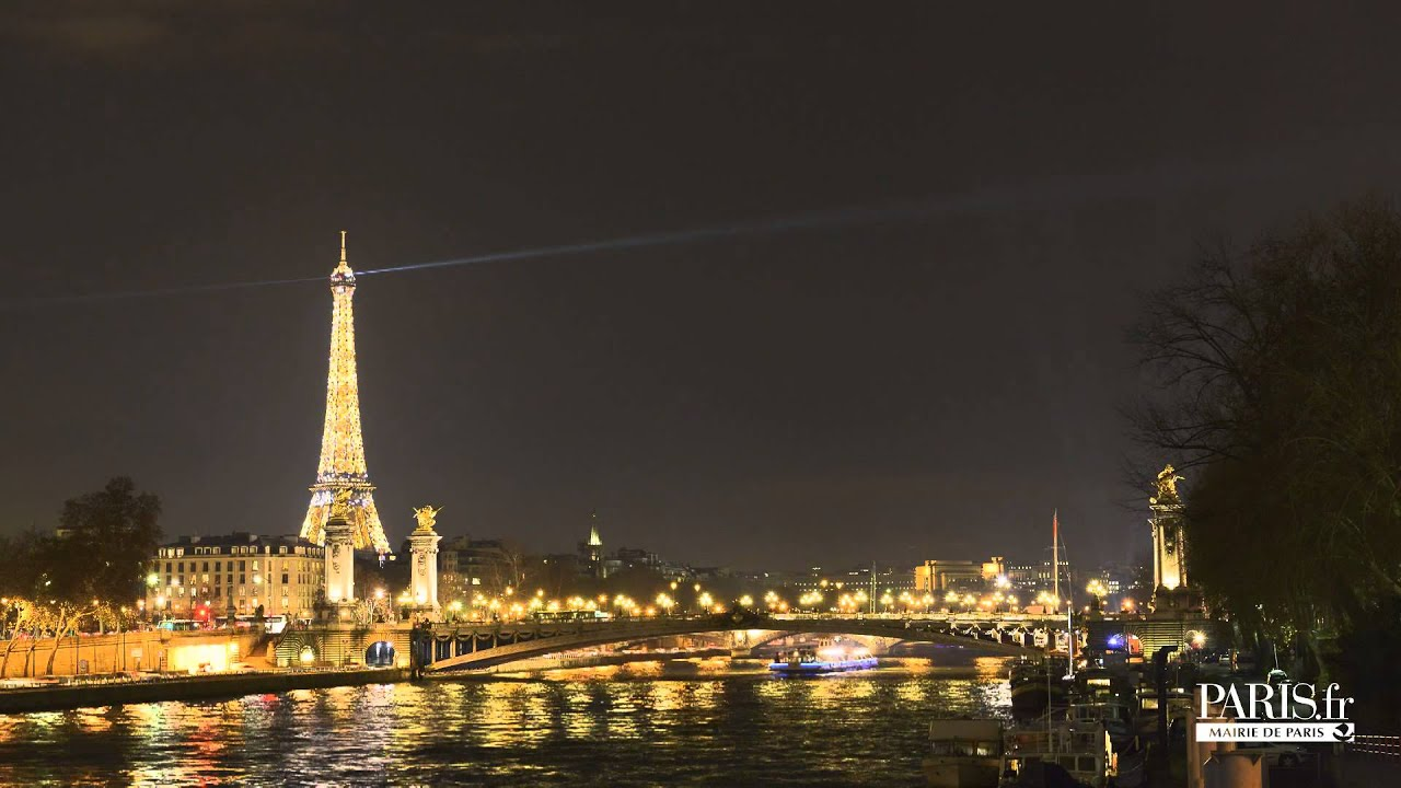 Illumination du sapin de no l place de la concorde paris youtube - Illumination noel paris ...