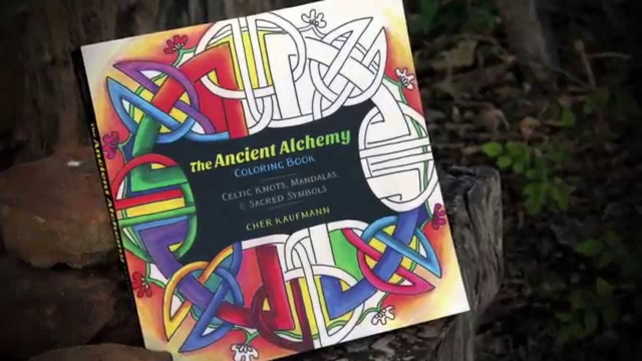 Ancient Alchemy Coloring Book Youtube