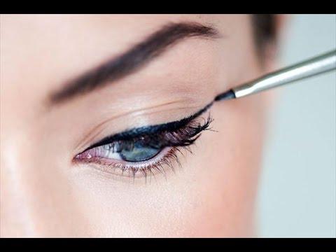 ♥Как рисовать стрелки на глазах♥