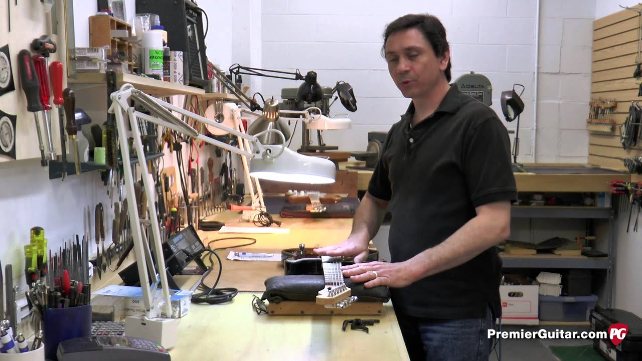 Guitar Shop 101 How To Convert Your Electric A Baritone Basic Circuits Part 2 Workbenchfuncom