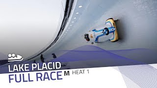 Lake Placid | BMW IBSF World Cup 2018/2019 - 2-Man Bobsleigh Heat 1 | IBSF Official