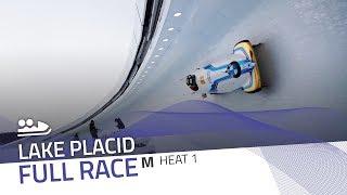 Lake Placid | BMW IBSF World Cup 2018/2019 - 2-Man Bobsleigh Heat 1 | IBSF Official