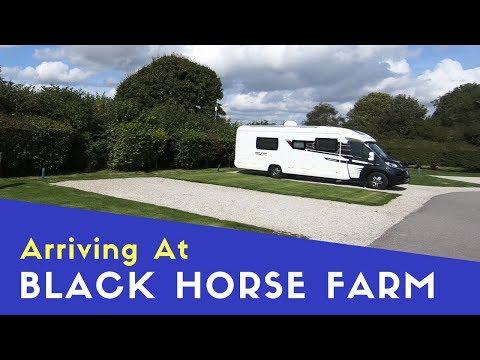 Arriving At Black Horse Farm Caravan And Motorhome Club Site | Euro Trip 2018 Pt4