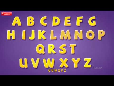 Alphabet song for Children l ABC Rhyme