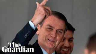 Trump hosts Brazilian President Jair Bolsonaro at the White House - watch live