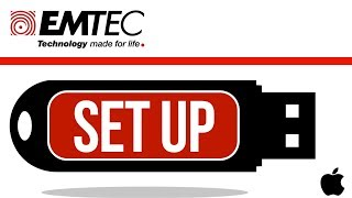 EMTEC USB flash drive Set Up Guide for Mac | MacBook Pro, iMac, Mac mini, Mac Pro, MacBook Air