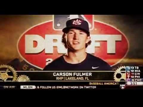 Chicago White Sox draft Carson Fulmer in The 1st Round of The 2015 MLB Draft