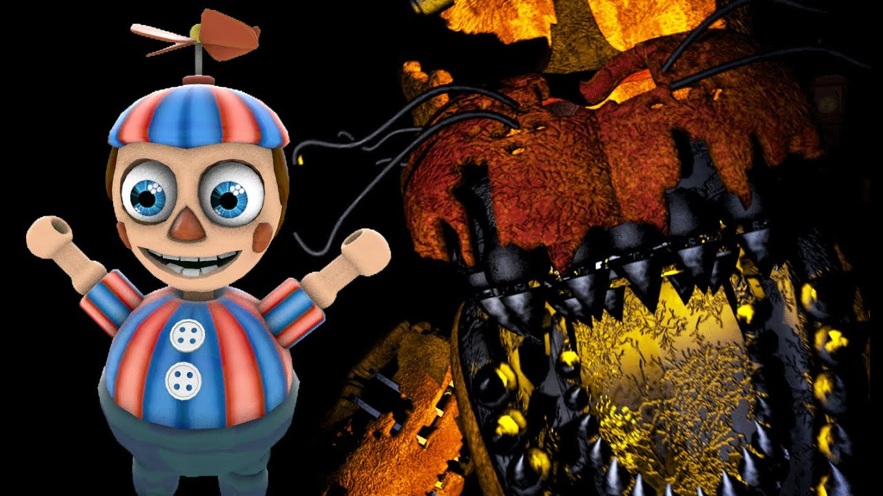 BB PLAYS: FNAF 4 Halloween Edition || Cheats and Challenges! - YouTube