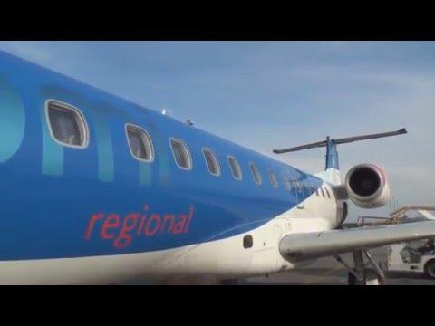 BMI Regional BM1717: Munich - Bern (Embraer ERJ-135) [HD 1080p]