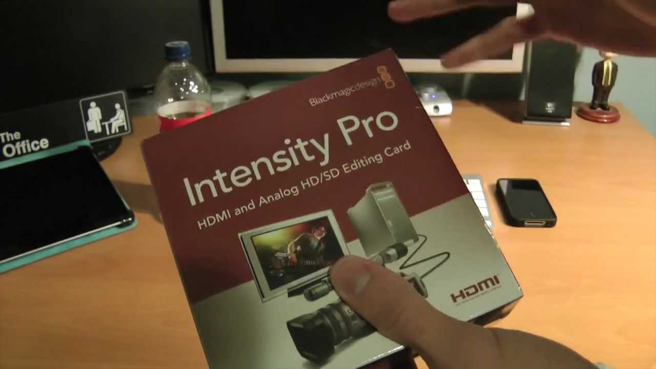 Unboxing Blackmagic Design Intensity Pro Hdmi Capture Card With Pci Express Youtube