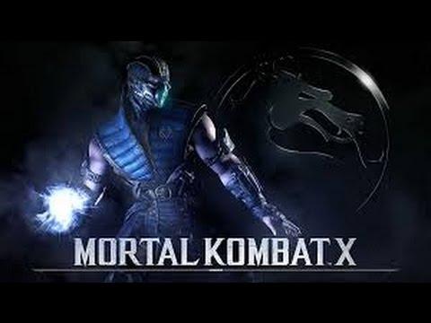 "Guia de Mortal Kombat X - ""Sub-Zero"" Combo de 10+ Golpes! Variante Criomante!"