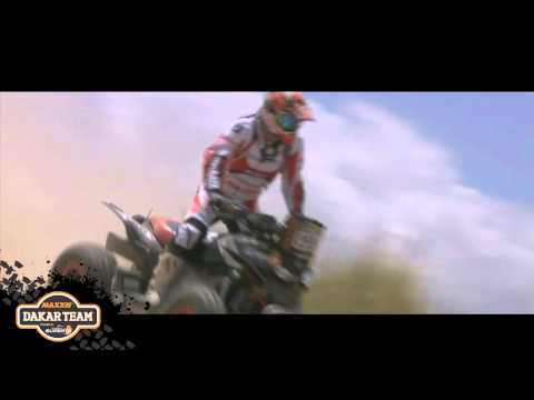 Dakar 2014 Stage 9 ; Epic Heli shots of the Maxxis SuperB Dakarteam