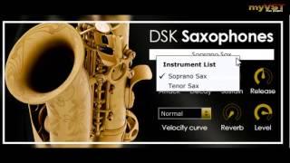 DSK Saxophones - Free VST - myVST