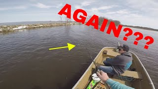 A HORRIBLE Day Fishing Walleyes - Wolf River: Spring 2018