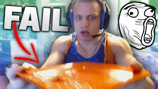 TYLER1 DROPS HIS FOOD! *FUNNY* EPIC FAIL (League of Legends Highlights)