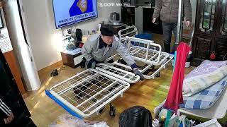#복지용구 3모터 전동침대 WS9930 설치영상