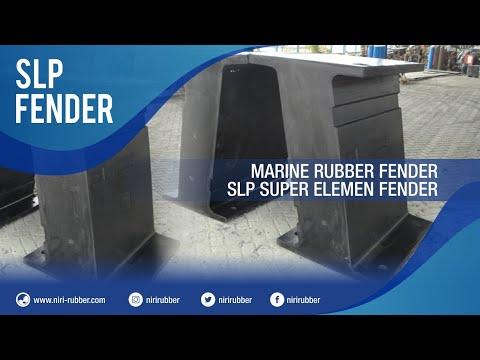 Marine Rubber Fender - SLP Pi Fender (HPi Fender)