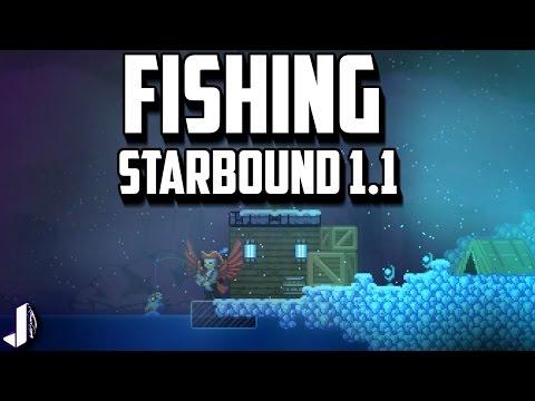 starbound рыбалка