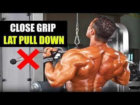 CLOSE GRIP LAT PULL DOWN- 5 MISTAKES STOP NOW!! (इन गलतियों को तुरंत रोकें)
