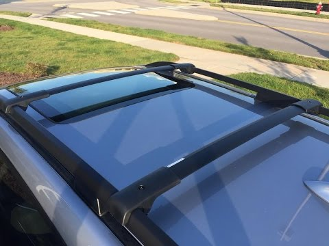 2016 Subaru Forester Aero Roof Rack Cross Bars Installation
