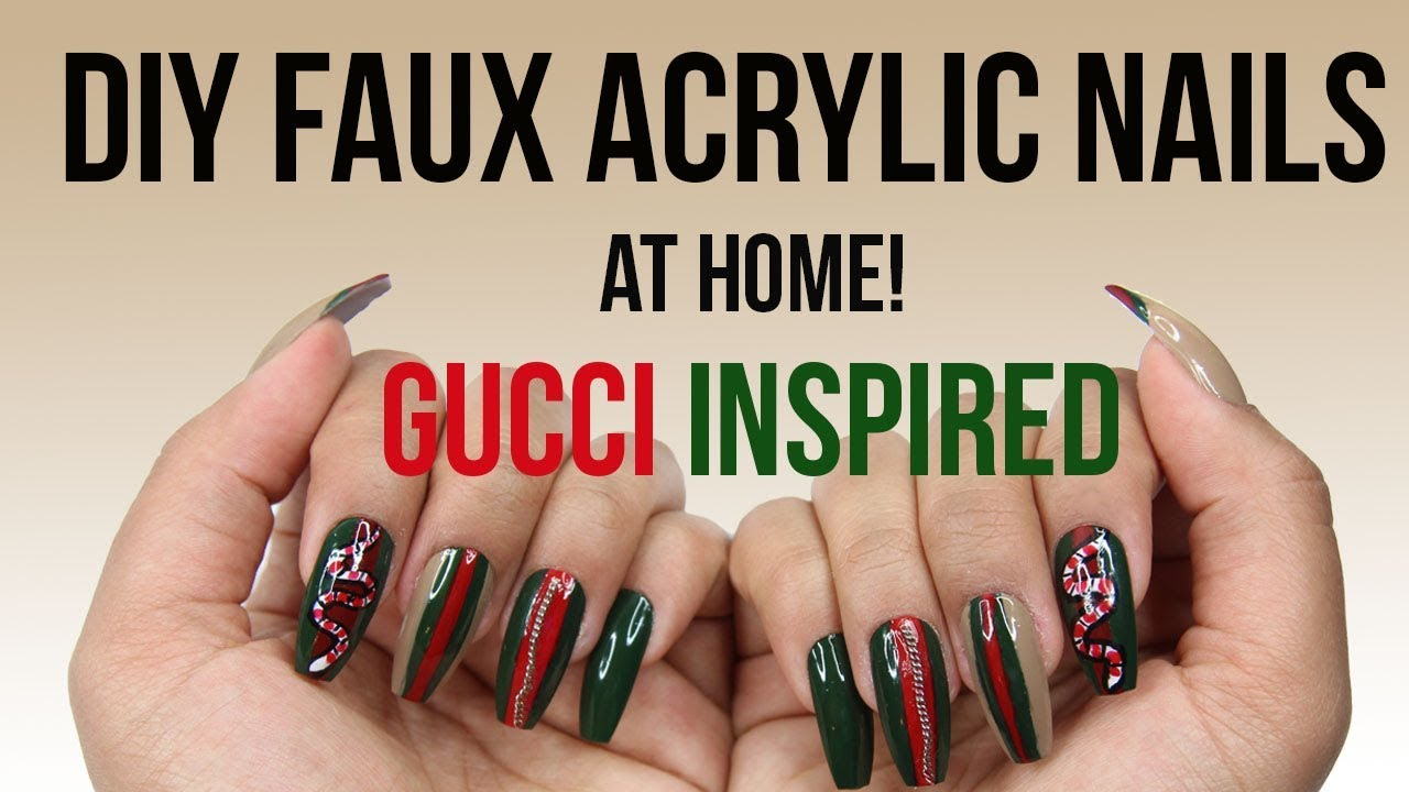 GUCCI GANG NAILS