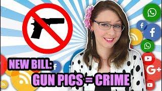 Bill Would Jail Kids for Posting Gun Pics