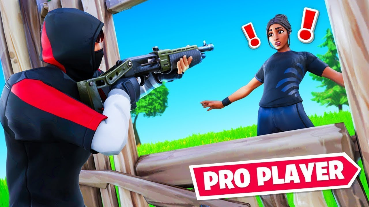 What happens when a YOUTUBER plays Fortnite Competitive...