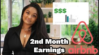 HOW MUCH I MADE MY 2ND MONTH ON AIRBNB: 6 FIGURES BUSINESS JOURNEY: Airbnb Business