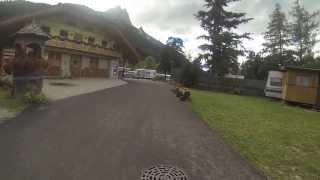 Mit dem Wohnmobil auf den Campingplatz Rosengarten (Pozza di Fassa), Wohnmobil Urlaub