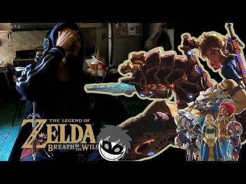 UNA P*TA MOTOCICLETAAAAAAA!!!!!/ Vídeo Reacción Zelda breath of the wild