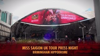 Miss Saigon | Birmingham Hippodrome Press Night