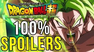 DRAGON BALL SUPER BROLY - 100% FULL SPOILERS - PLOT, BATTLES, MUSIC, ANIMATION!