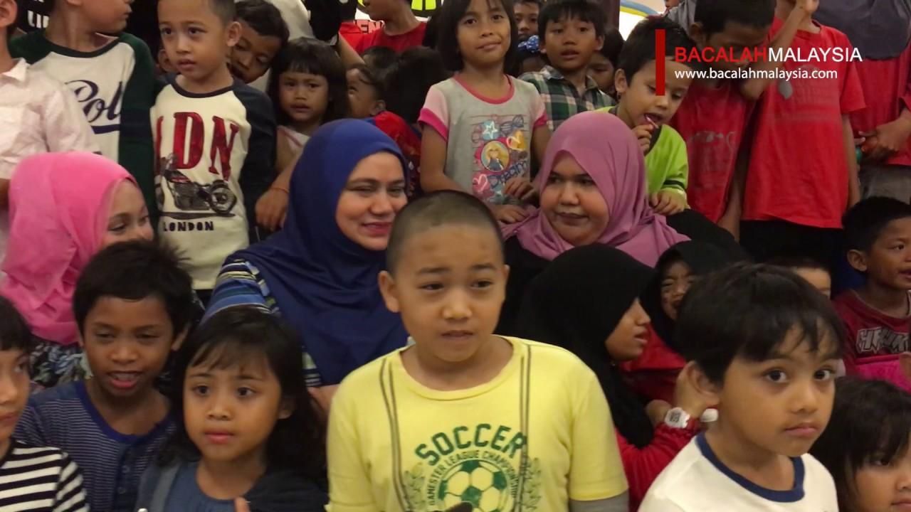 Upin Ipin Bersama Anak - Anak Autism, Yatim Piatu dan Gelandangan ...
