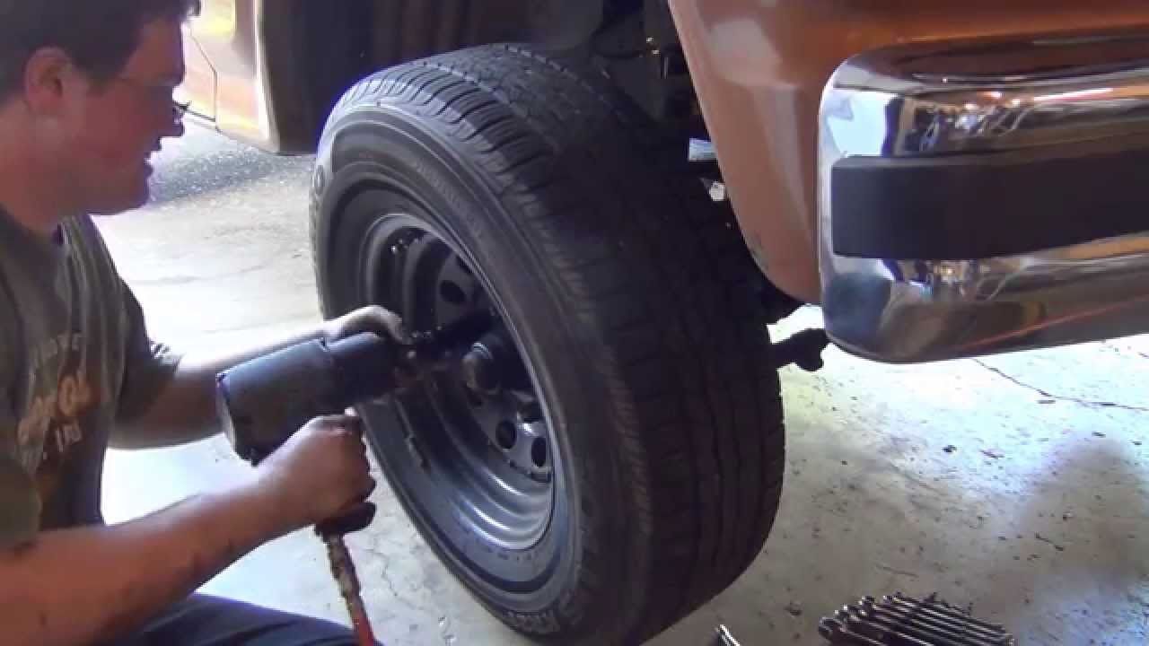 1968 Ford Truck >> Ford F150 Axle Pivot Bushing Replacement - YouTube