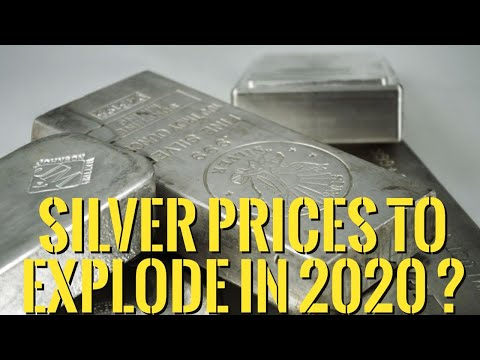 👉Silver Price Forecast For 2020 : Could Silver Price Explode Like A Bitcoin On Steroids ?