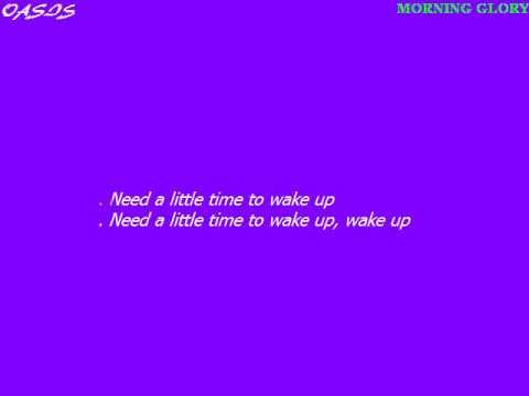Oasis   Morning Glory Karaoke